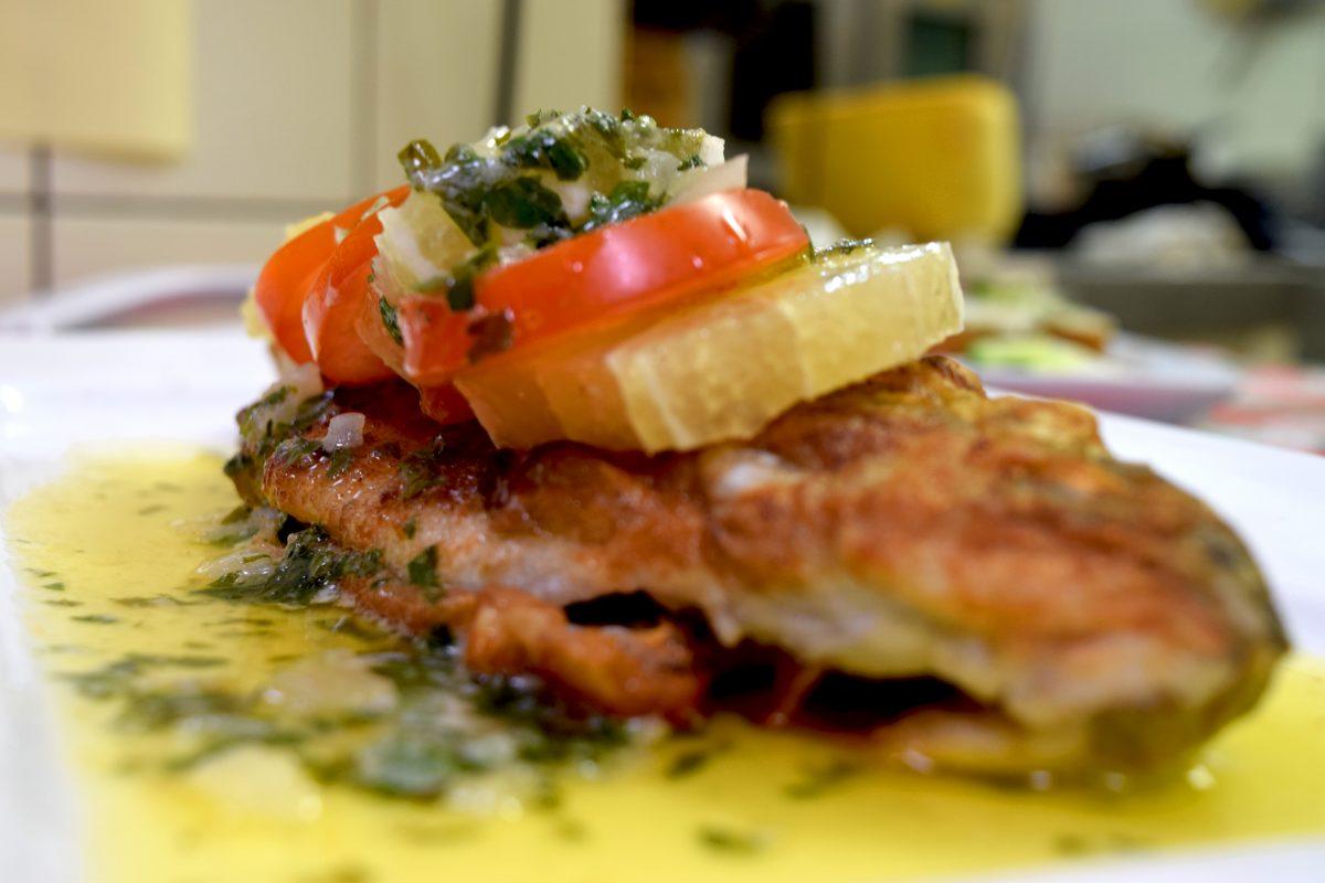 Restaurant Essen Forelle
