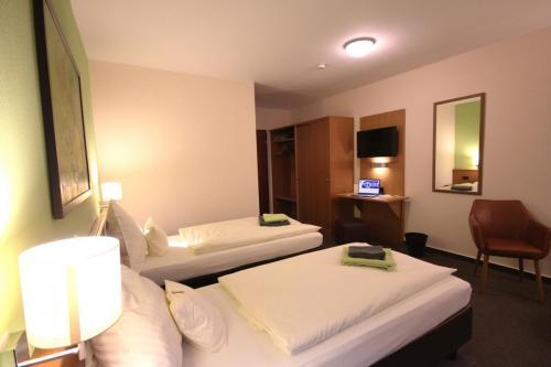 Hotelzimmer Raumansicht