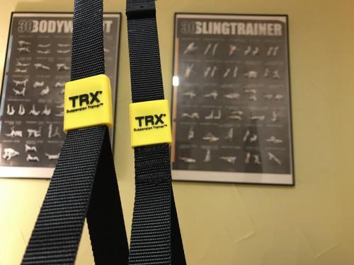 TRX Band zum Trainieren